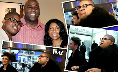 Magic Johnson with gay son