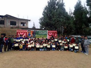 Winter Footbal Coaching Camp Mungpoo