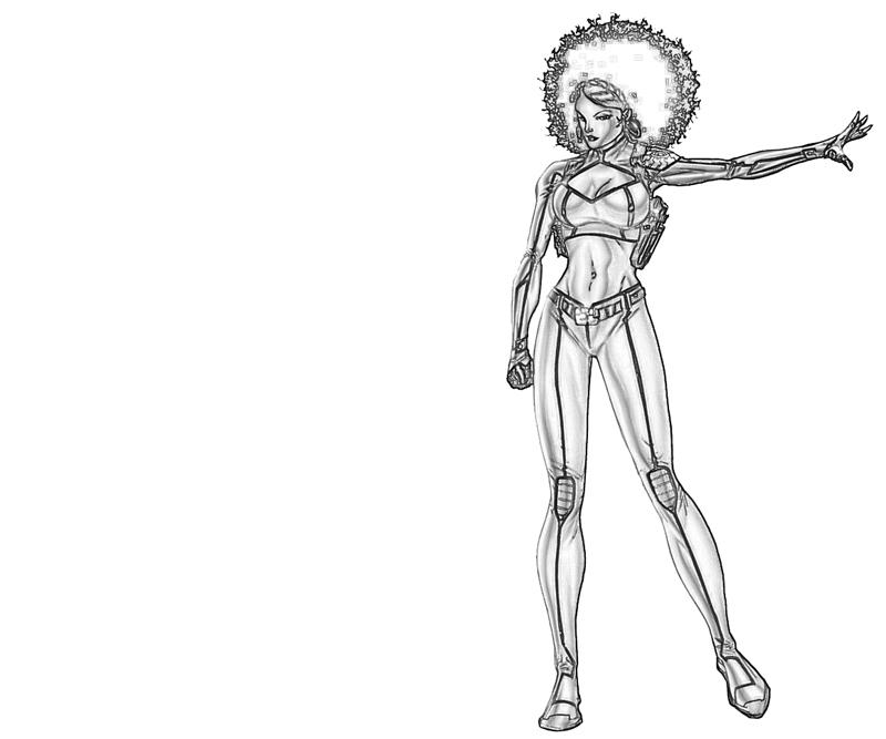 misty-knight-ability-coloring-pages