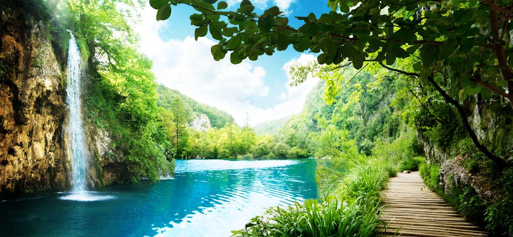 Banco de im genes 12 fotos de paisajes naturales - Panoramabild schlafzimmer ...