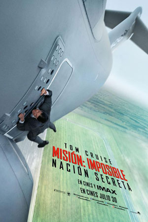 Poster Mission: Impossible – Rogue Nation 2015