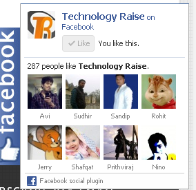 Add Static Facebook Pop Out Like Box with Smooth Jquery
