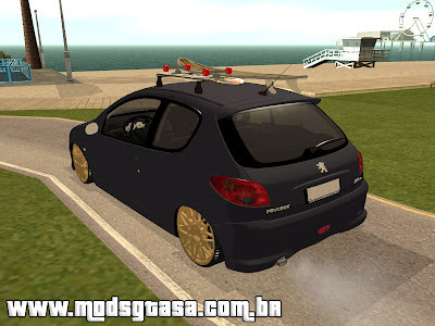 Peugeot 206 Shark Edit para GTA San Andreas