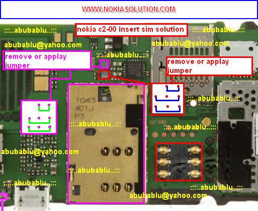 nokia c2 00 shows insert sim to repair nokia c2 00 insert sim problem
