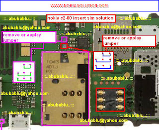 NOKIA C2-00 SHOWS INSERT SIM: TO REPAIR NOKIA C2-00 INSERT SIM PROBLEM