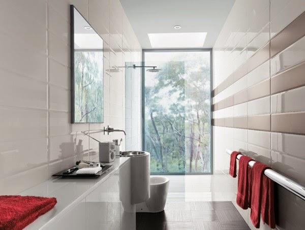14 صور تصاميم حمامات عصرية   ديكورات حمامات كبيرة و ضيقة   الوان و نقوش حوائط حمامات مودرت