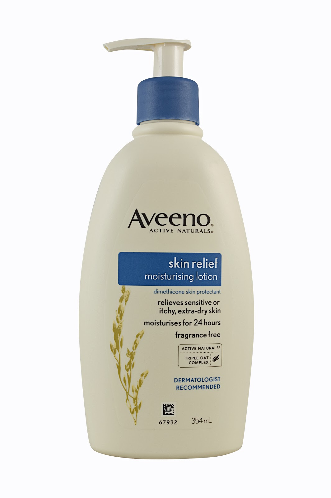 Total relief AVEENO has all the right ingredients