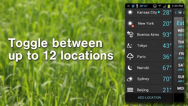 1Weather Pro Local Forecast, Radar v2.2 APK 1Weather Pro Local Forecast, Radar v2.2 APK Weather  Local Forecast 252C Radar8