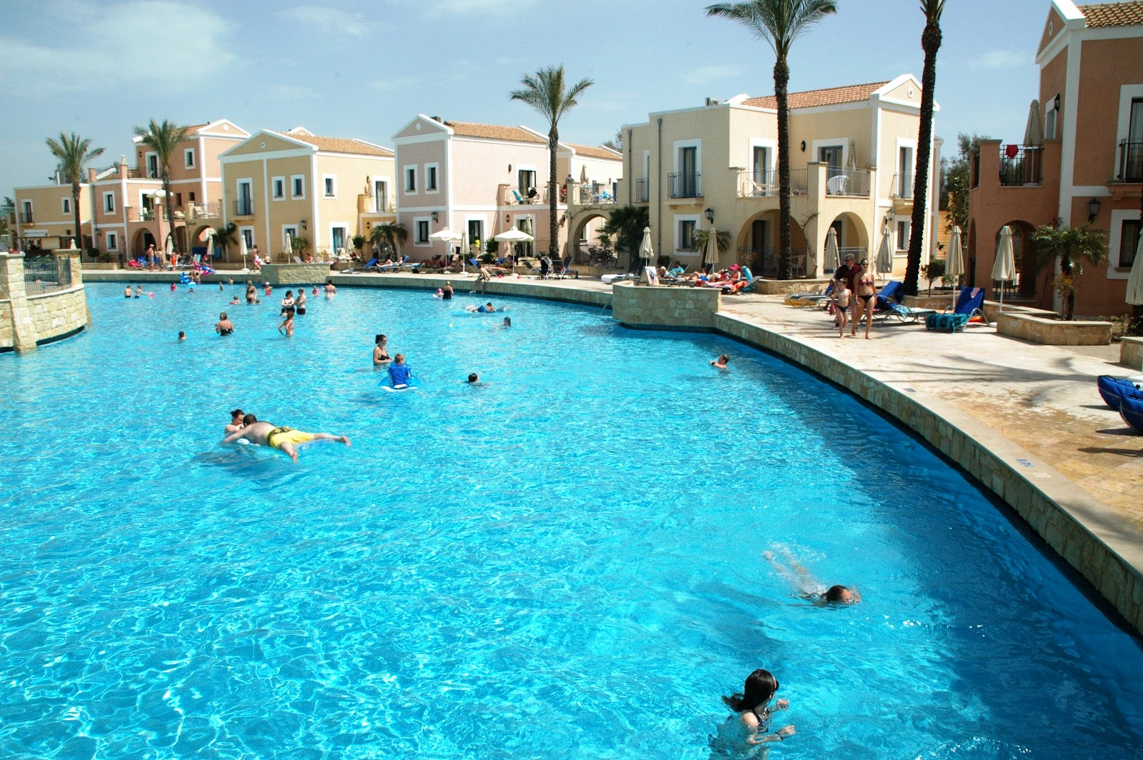 Aliathon holiday village official blog the largest pool in cyprus for Largest swimming pool in the us