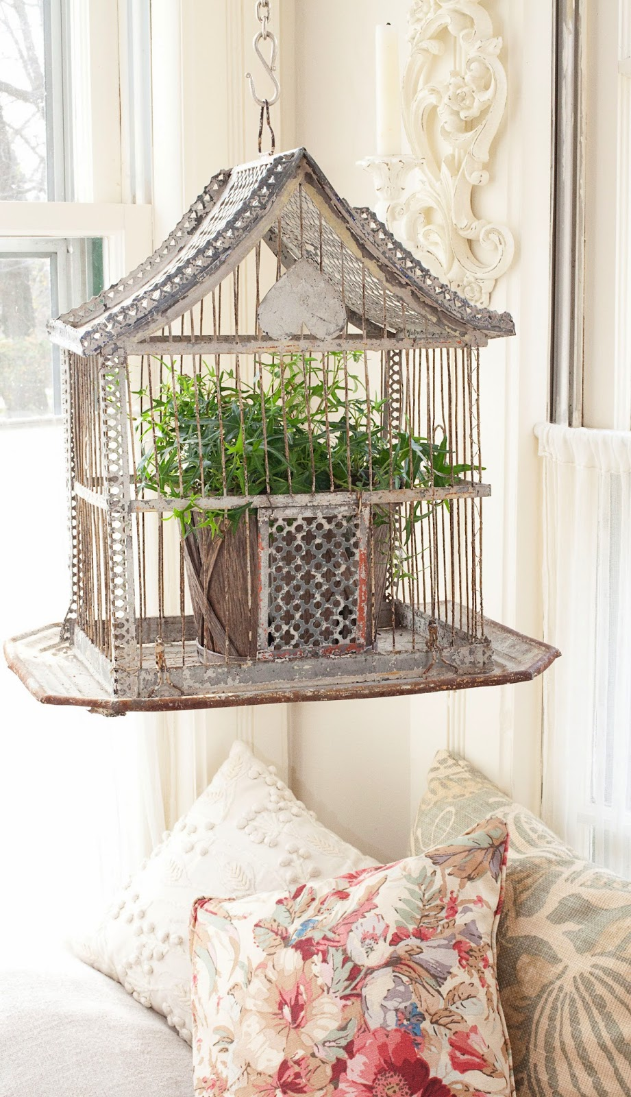 Jaulas vintage vintage cage sweet home style for Decoracion con jaulas