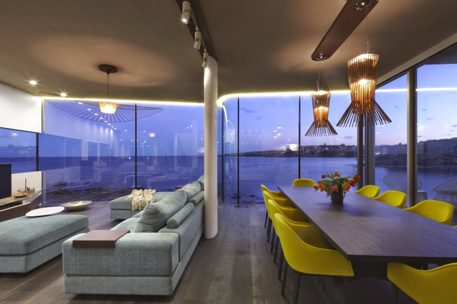 salle à manger vue d la mer