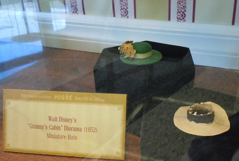 Disney Granny's Cabin miniature hats