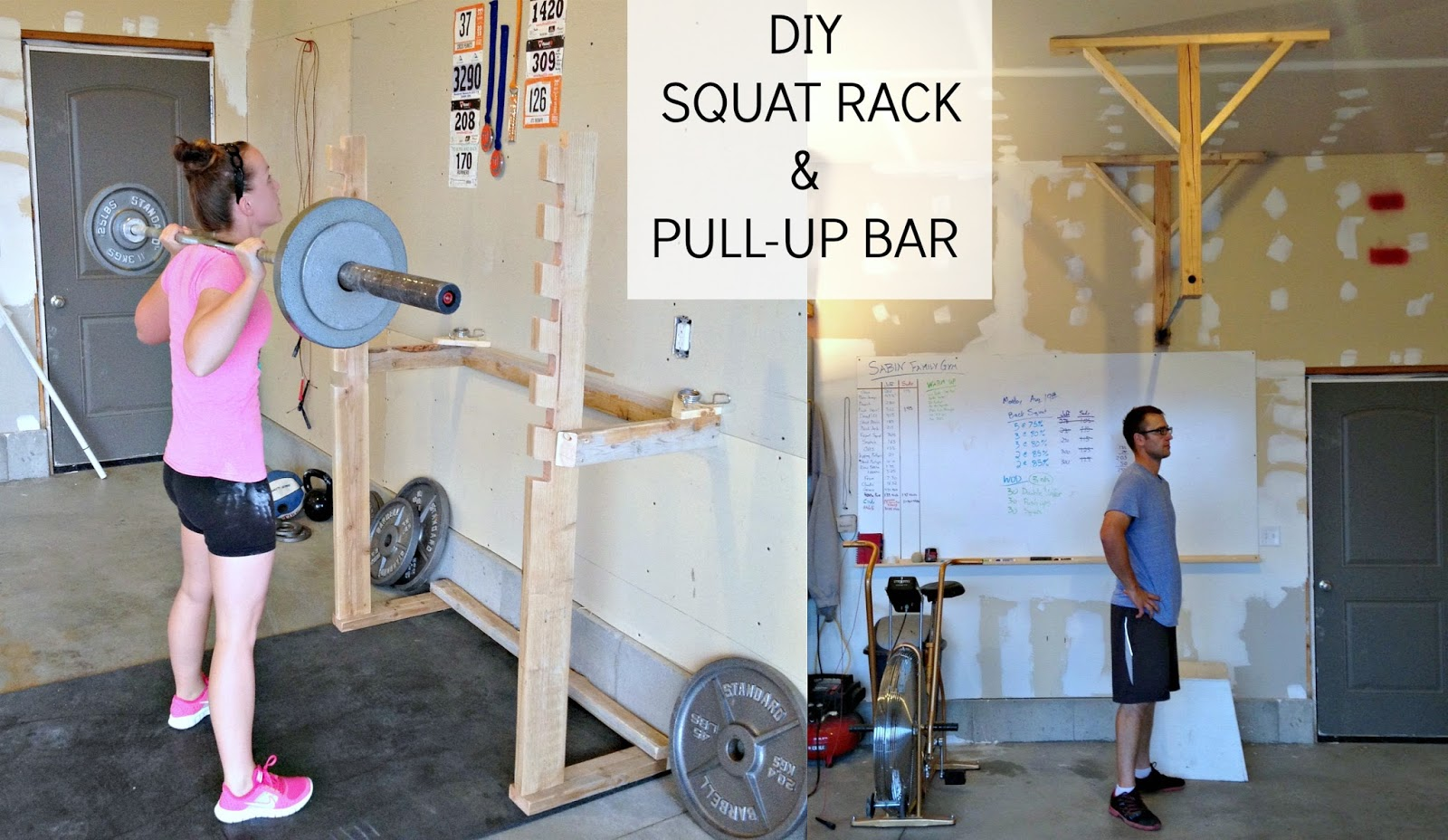 Crossfit garage gym on pinterest pull up bar