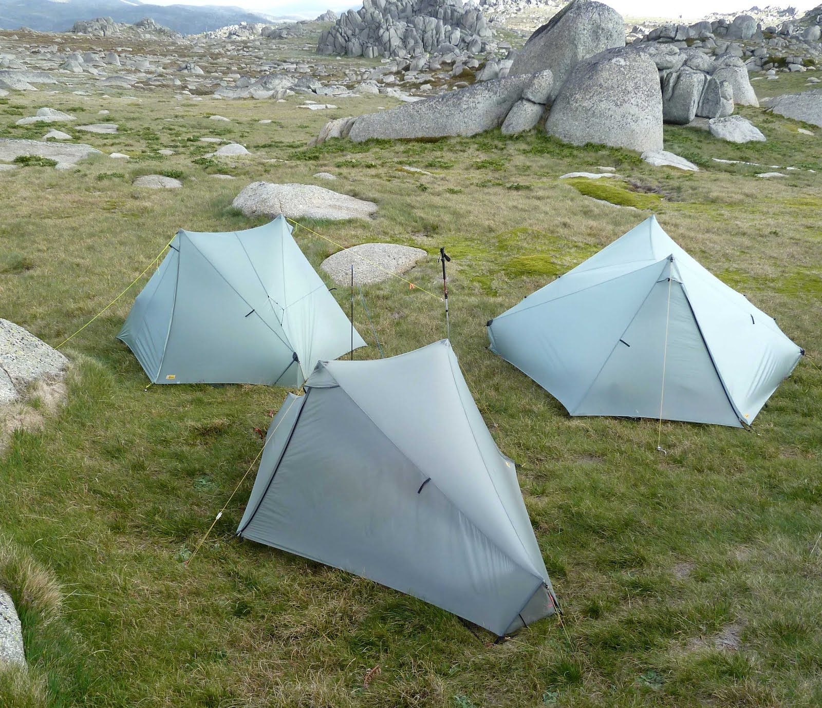 Clockwise from top left Tarptent StratoSpire 1 StratoSpire 2 and Notch & Bushwalking Light: Tarptent StratoSpire 1 - First Look and Long ...
