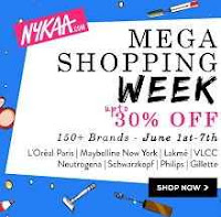 Nykaa : Mega Shopping Week Upto 30% OFF for 1st To 7th June : Buytoearn
