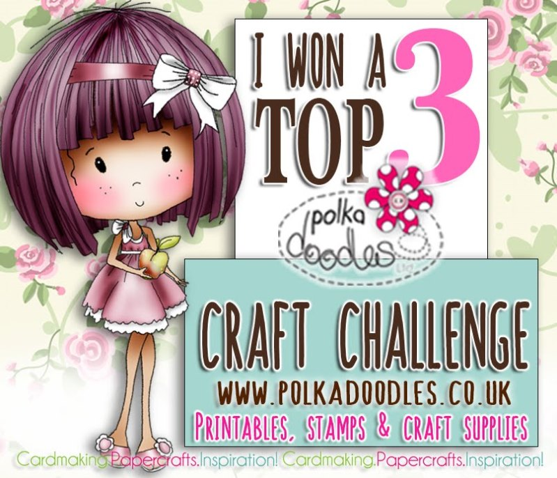 Top 3 DT Favorite for Polkadoodles Blog Challenge