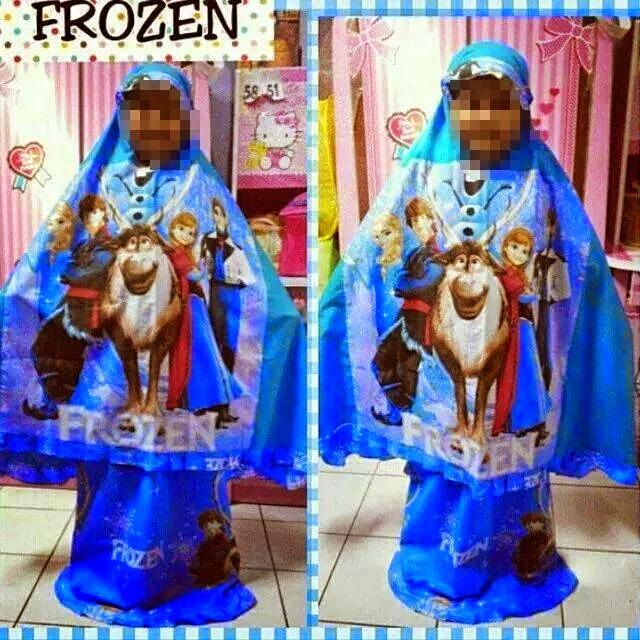 gambar telekung kanak kanak frozen blog melayu terkini
