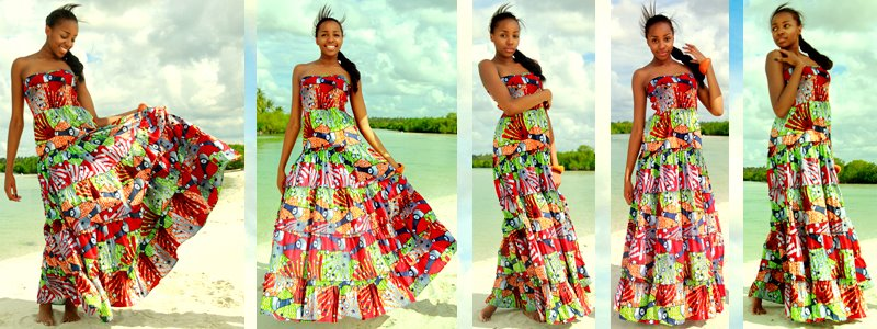 Kiki's kitenge Maxi dress,come get yours now,its simple,elegant and