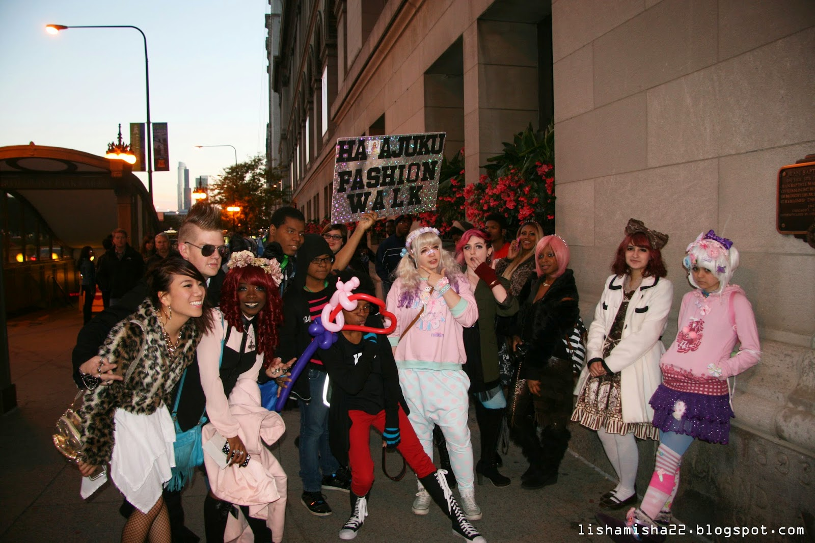 Chicago Harajuku Fashion Walk