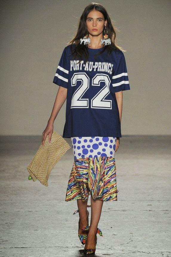 Camisola futebol americano - Tendência primavera-verão 2015