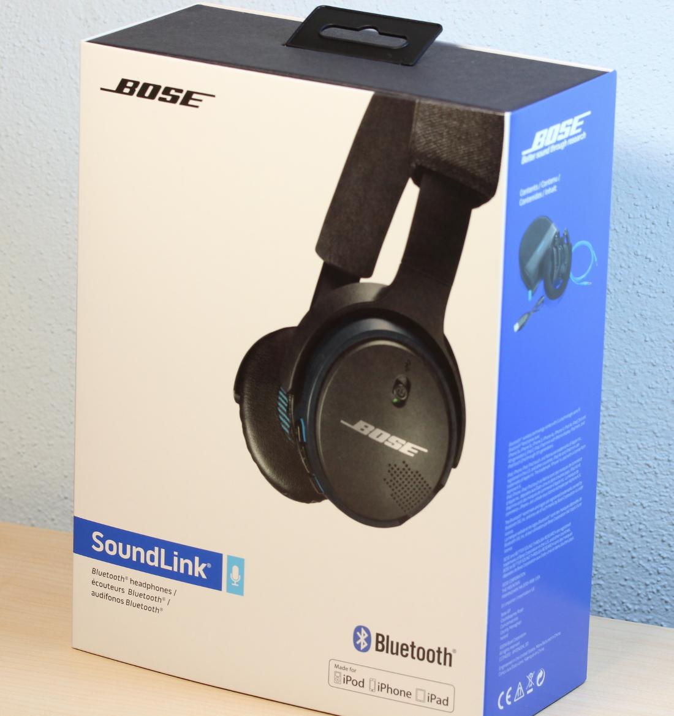 Verpackung Bose SoundLink Bluetooth On-Ear Kopfhörer