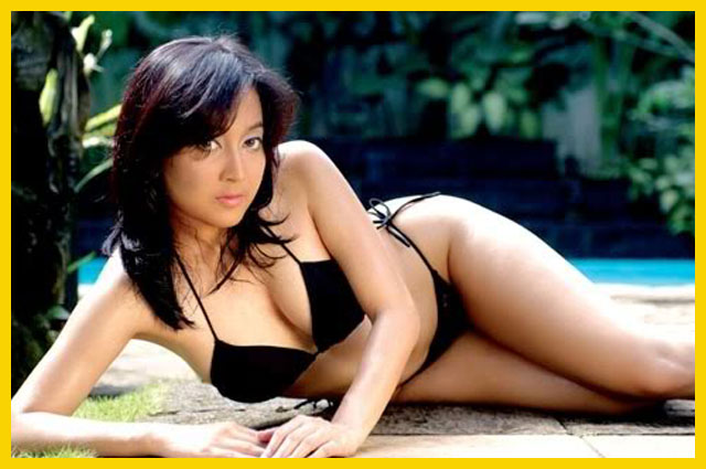 Kumpulan Foto Hot Taffana Dewi Model Seksi Indo