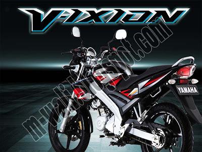 Harga Motor Yamaha Vixion Terbaru 2012