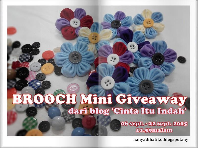 """ BROOCH Mini Giveaway"""