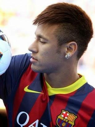 Gaya Rambut Neymar Jr