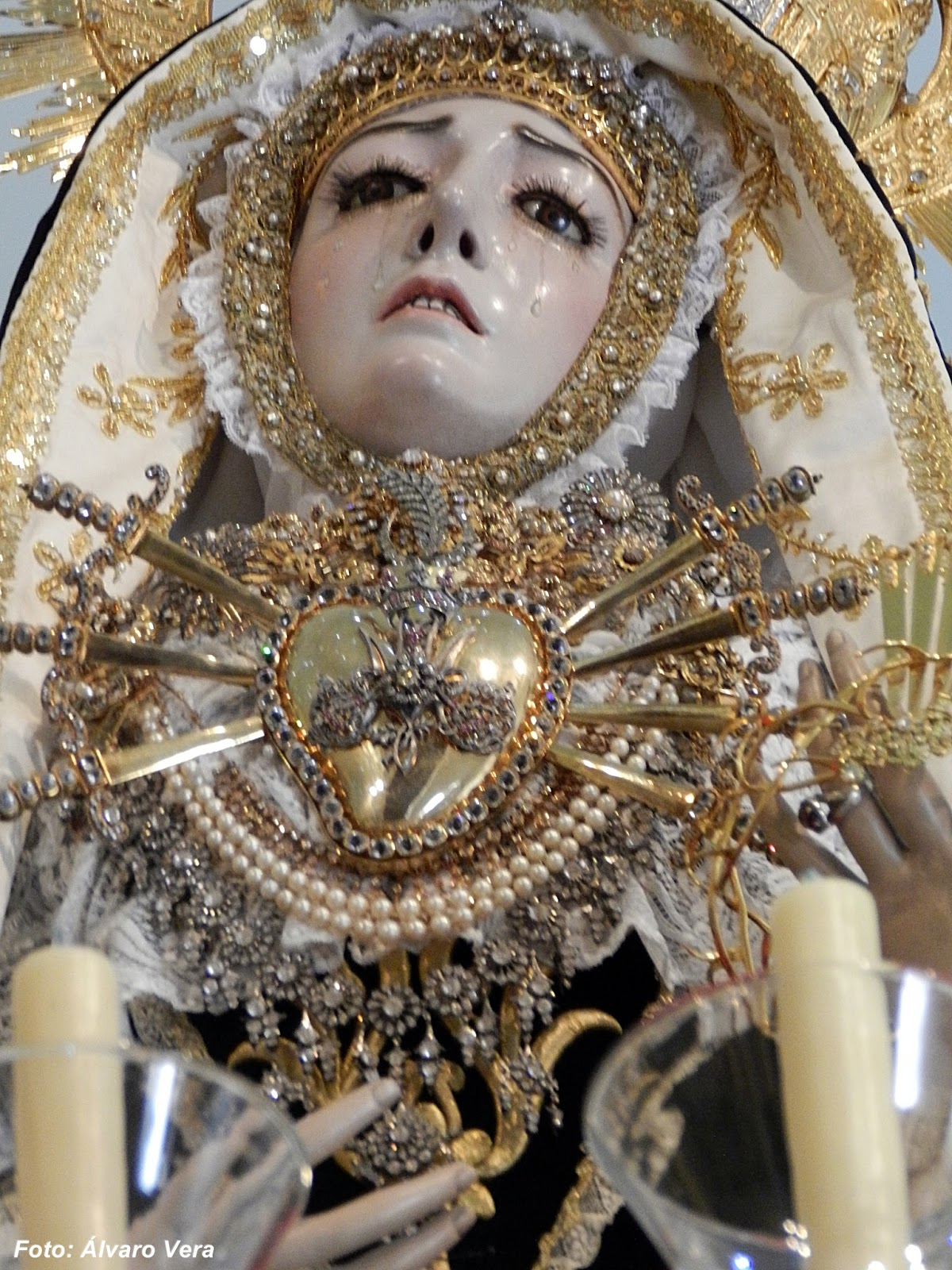 Gente de paz la virgen de los dolores en el regina mater - Persianas lavirgen cordoba ...