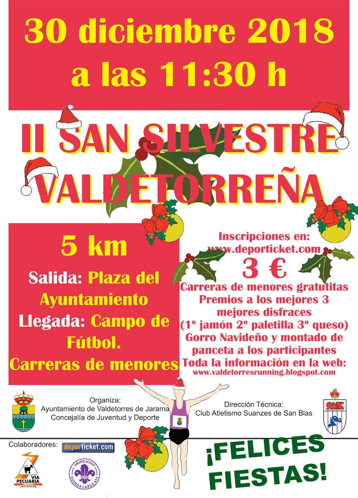 II San Silvestre Vicalvareña. 30 de diciembre
