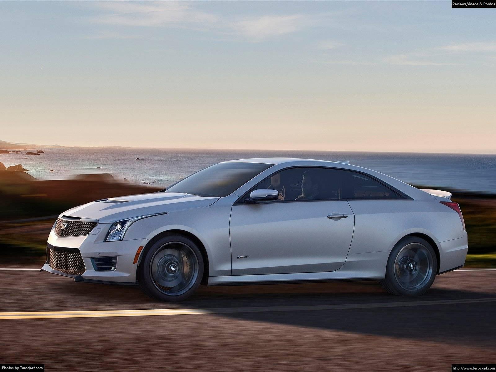Hình ảnh xe ô tô Cadillac ATS-V Coupe 2016 & nội ngoại thất
