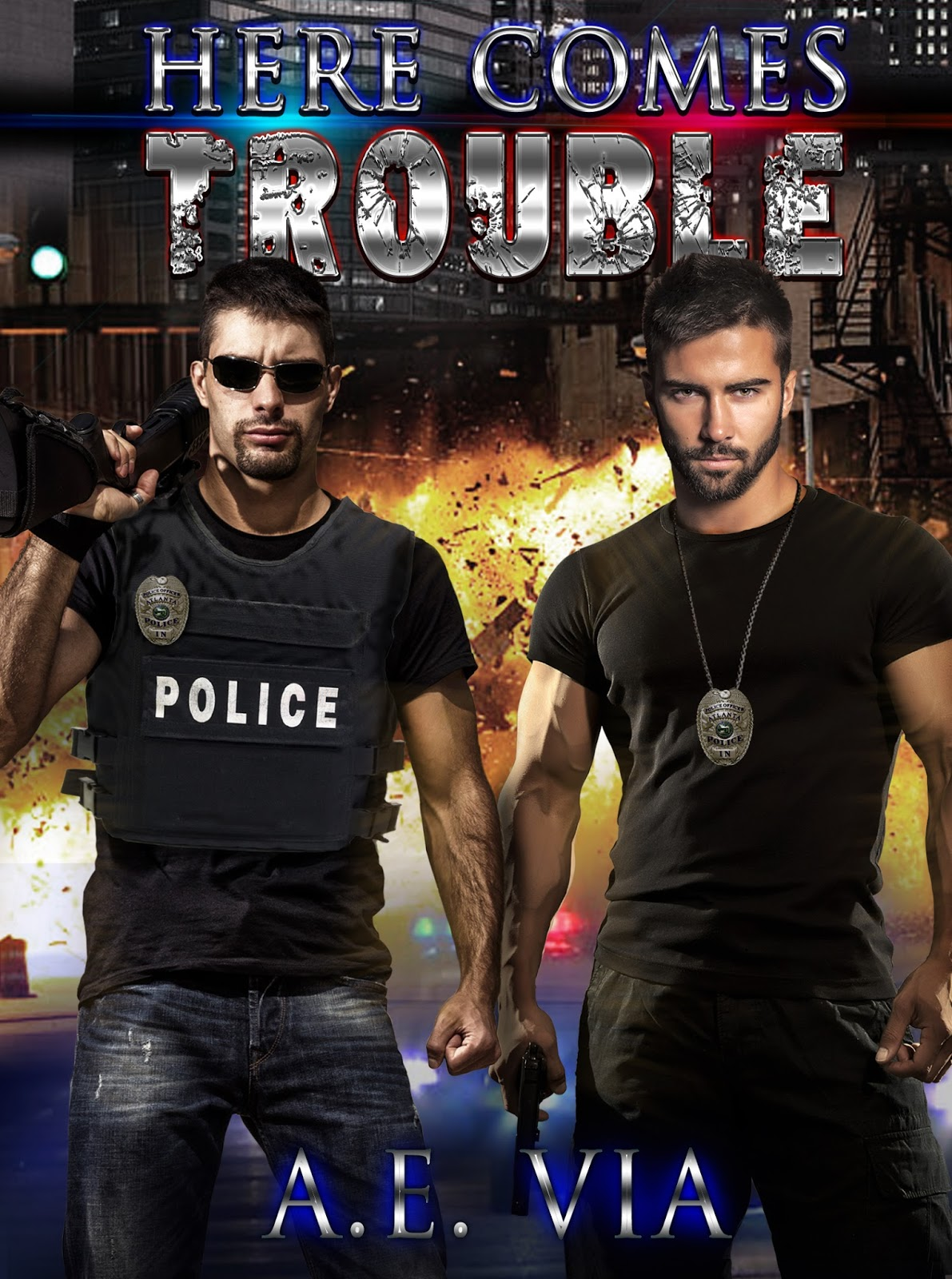 Spotlight: Here Comes Trouble by A.E. Via + Giveaway (INT)