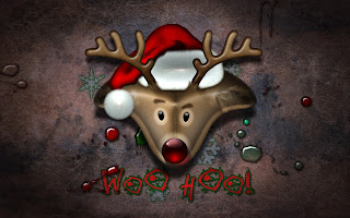 Reindeer Christmas Holiday HD Wallpaper
