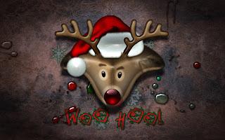 Reindeer Christmas Holiday HD Wallpaper