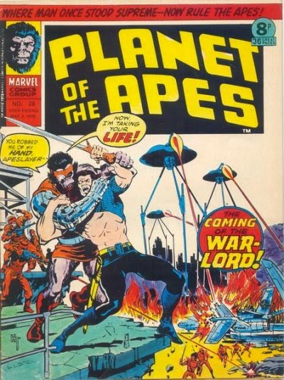 Marvel UK Planet of the Apes #28, Apeslayer