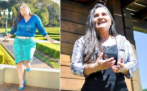 Cantora Raquel Antunes veste Nítido