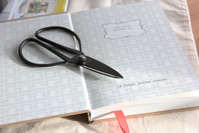 Scissors and notebooks, always handy when crafting