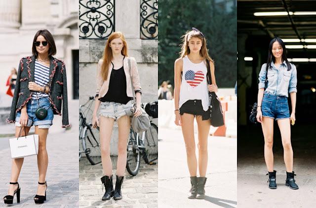 streetstyle shorts