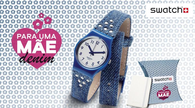 a0d5da63b90 Estação Cronográfica  Dia da Mãe - edição especial relógio Swatch ...