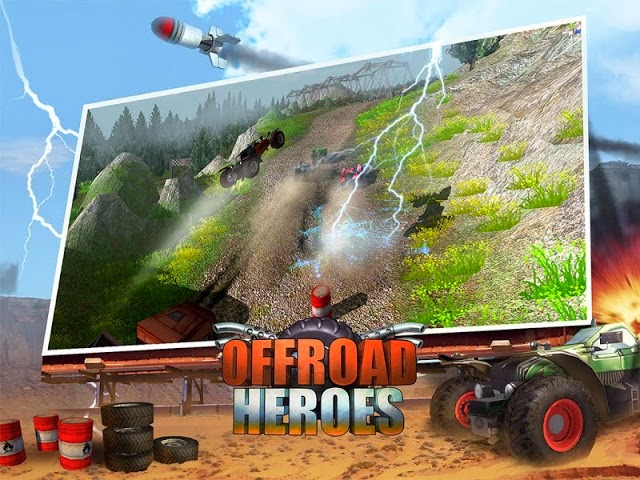 Offroad Heroes Action Gold Gameplay