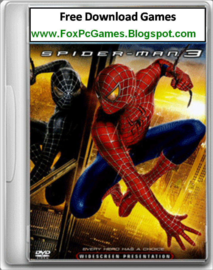 SpiderMan 3 pc game free download full version - Fox Pc Games