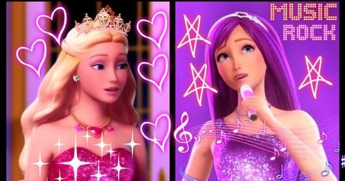 C 39 est trop bien barbie la princesse et la popstar les chansons du film - Barbie la princesse et la pop star ...