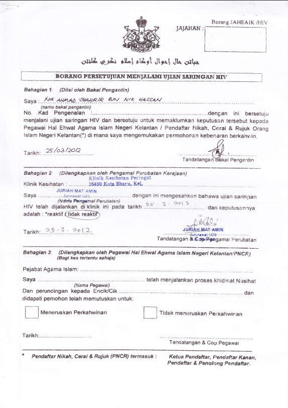 Geediaries Proses Permohonan Nikah Kelantan Johor Interview Selesai Alhamdulillah