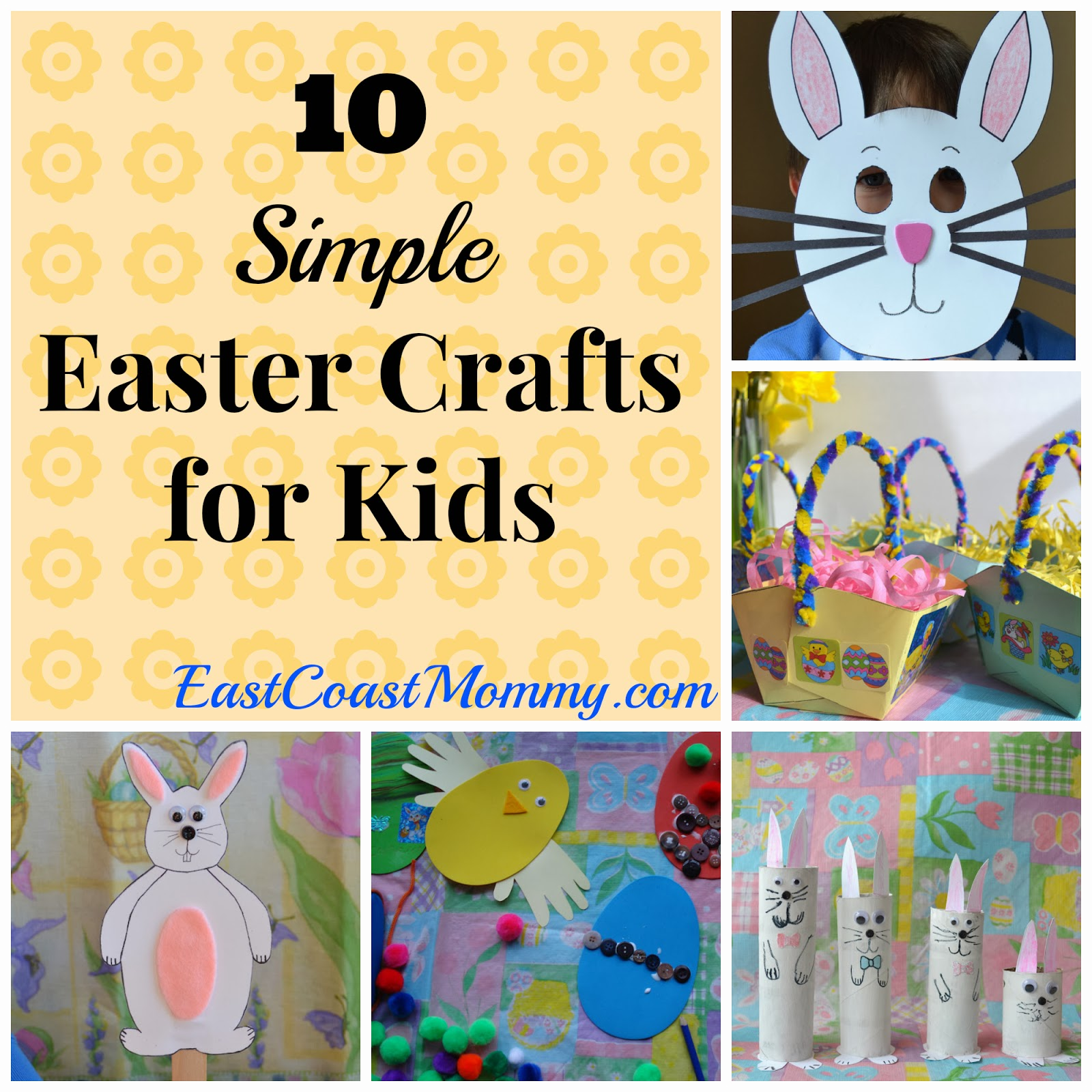Images of Simple Easter Crafts For Kids - Best Gift and Craft