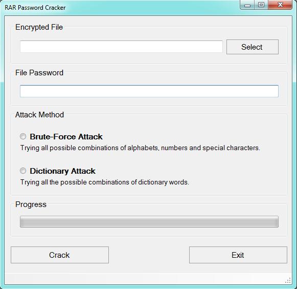 Crack winrar password com cmdr