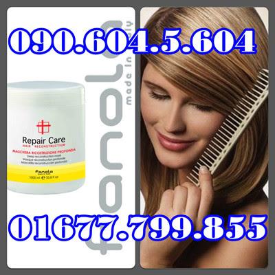Hấp dầu Fanola Điều dưỡng tóc hư tổn nặng Fanola Repair Care