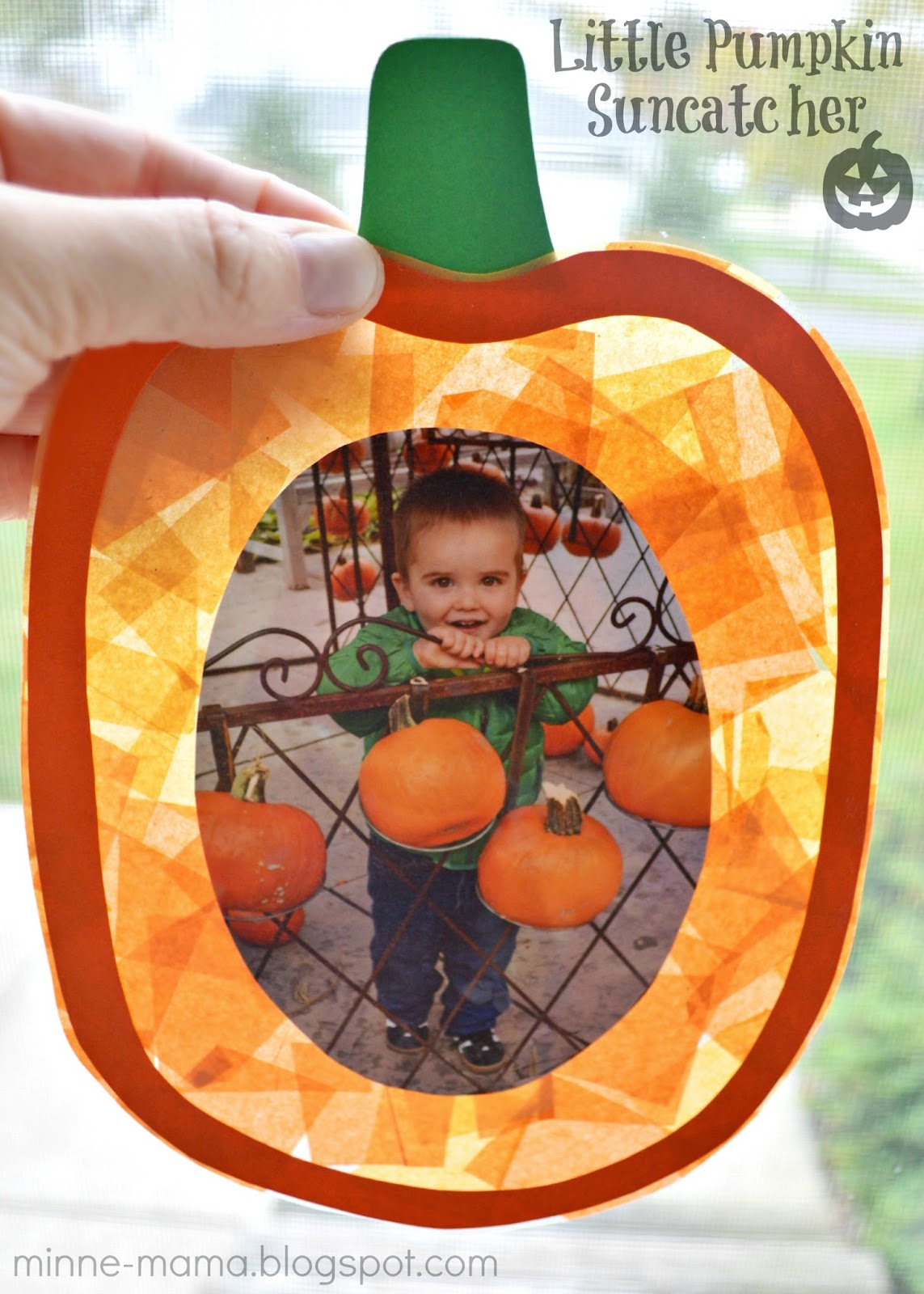 It is an image of Accomplished Pumpkin Crafts for Preschool