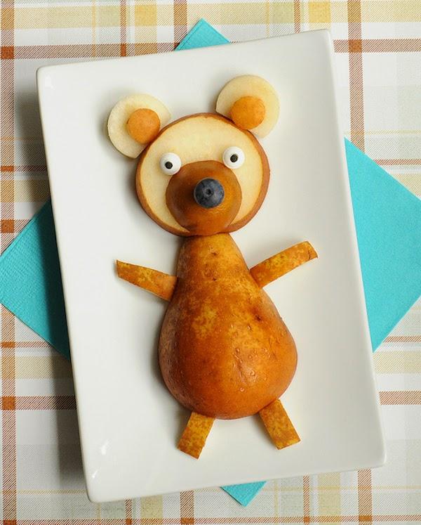 Fruta divertida para niños - colaboración con Villeroy & Boch