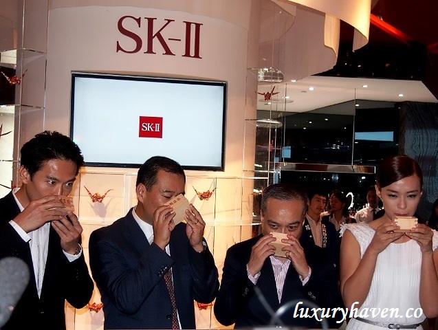 sk-ii mediacorp celebrities qi yu wu rebecca lim